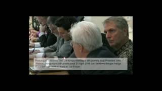 Coutersy Call Menkumham dan Dubes2 Anggota Uni Eropa