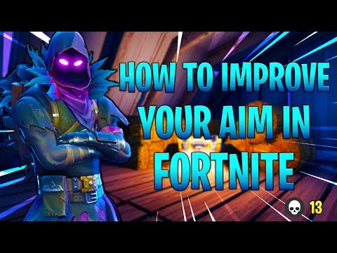 FORTNITE HOW TO AIM BETTER ! CONSOLE FORTNITE TIPS TO IMPROVE ACCURACY ! (Fortnite Battle Royale)