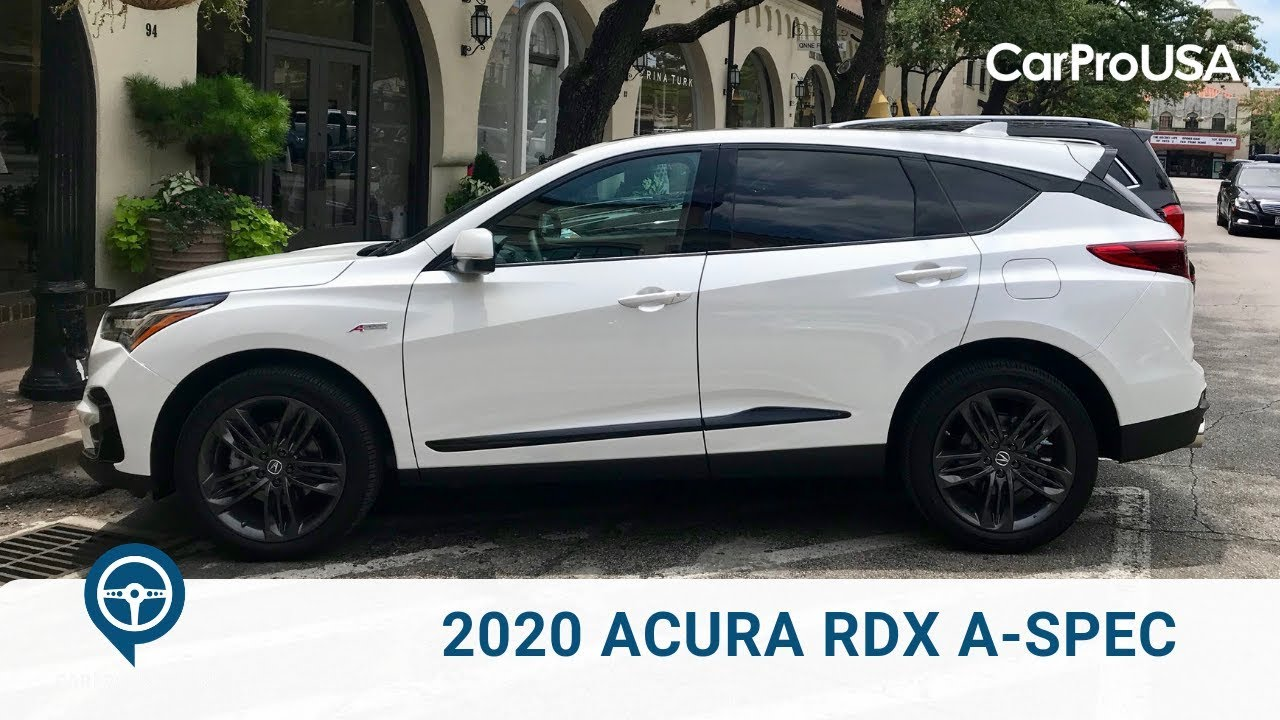 2020 Rdx Review.2020 Acura Rdx A Spec Sh Awd Review