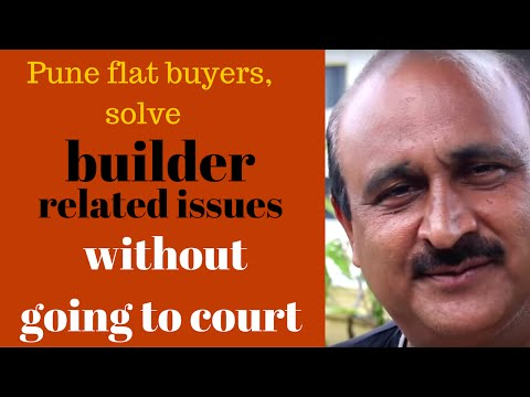 Pune flat buyers, solve builder related issues without going to court
