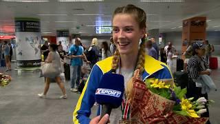 Легкая атлетика. Ярослава Магучих - чемпионка мира среди юношей в прыжках в высоту