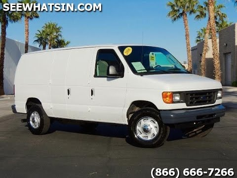 2006 ford e350 6 0l diesel cargo van 71k miles amazing. Black Bedroom Furniture Sets. Home Design Ideas