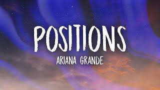 Download Ariana Grande - Positions (Lyrics)
