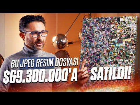 Bu JPEG Resim $69.300.000'a Satıldı! NFT Kripto Sanat Çağı Başladı
