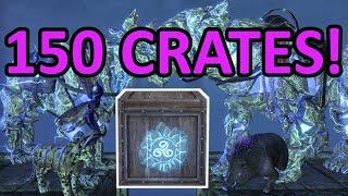 Opening 150 ESO Storm Atro Crown Crates! 🗲