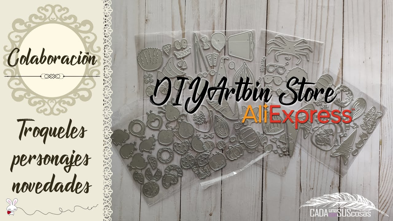 ¡TROQUELES DE PERSONAJES! Novedades DIYArtbin Store Aliexpress