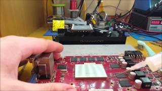 how to fix broken nvidia or amd graphics card with hot air station