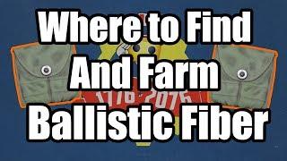 Fallout 76 - Where to Find Ballistic Fiber, Military Ammo Bags Farm - Ballistic Fiber Farm Location