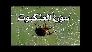 &[ سُورة العنكبوت AlAnkaboot Surah ]& برواية هشام عن ابن عامر / للشيخ المُقريء : د.عبدالحكيم الشاعر