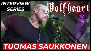 WOLFHEART - Tuomas Saukkonen on NEW ALBUM, Skull Soldiers, future of metal & more   INTERVIEW