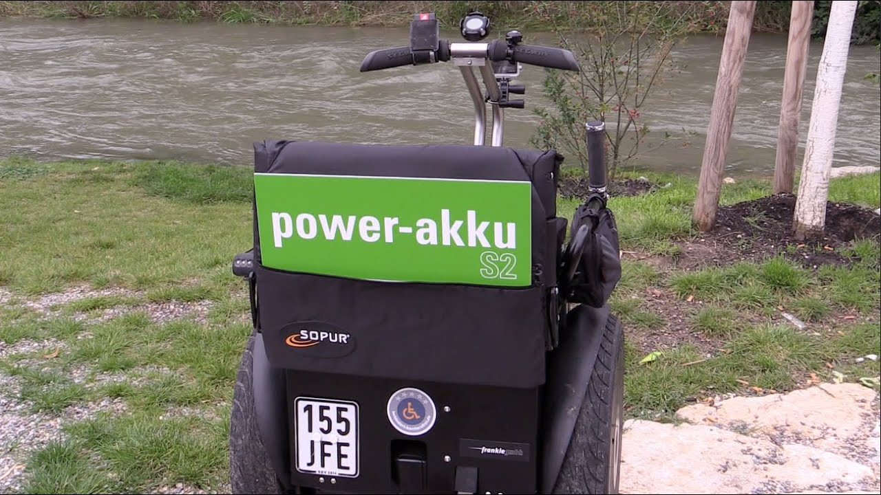 rollstuhl power akku s2 segway apache youtube. Black Bedroom Furniture Sets. Home Design Ideas