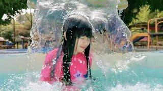 Berenang dan Main Air Di Telaga Emas !! Nicole Annabelle
