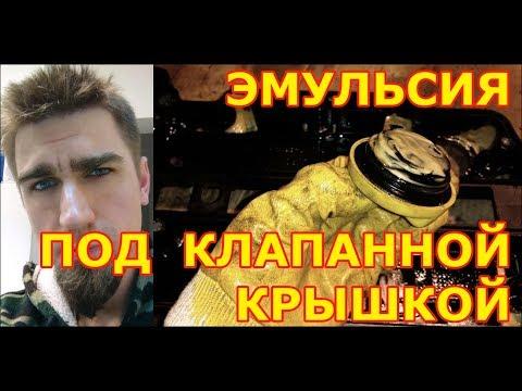 ЭМУЛЬСИЯ ПОД КЛАПАННОЙ КРЫШКОЙ / ЗАМЕНА ПРОКЛАДКИ / OPEL CORSA / 2008   1.2  Z12XEP