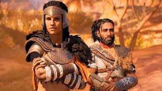 Assassin's Creed Origins: The Hidden Ones - Ending (PC HD) [1080p60FPS]