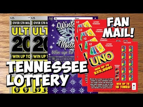$68 Tennessee Lottery Tickets! $25 Ultimate 200X ✦ Winter Ice Multiplier ✦ UNO