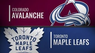 Avalanche vs Maple Leafs   Jan 14,  2019