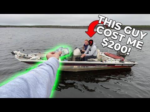 BIG LOSS While Tournament Bass Fishing!