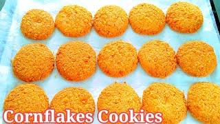 Cornflakes Cookies Recipe  How to make Cornflakes Cookies  Easy Cookies Recipe