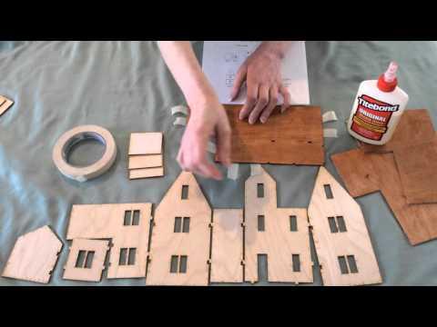 Harts Desire Minis Assemble 1:48 Victorian House Kit