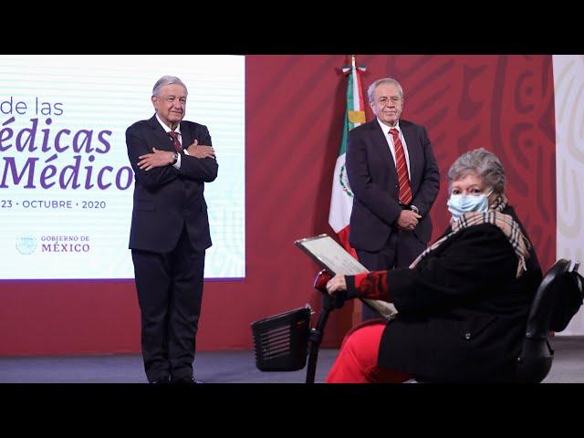 Conferencia de prensa en vivo, desde Palacio Nacional. Viernes 23 de octubre 2020   Presidente AMLO