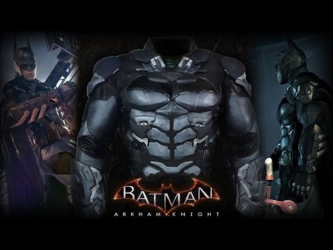 Batman: Arkham Knight: Replica Armor For Sale At Comic-Con!