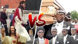 😂 MEME del ATAUD⚰️ vs ✝️ JESÚS DANCING MEME🎵🎼 (MÍRALO Y RÍETE 😂) Junio 2021