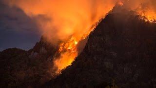 Lake Lure wildfire, 2016