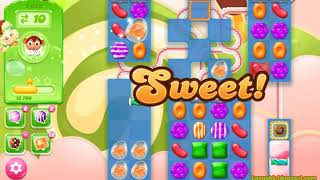 Candy Crush Jelly Saga Level 1689 (3 stars, No boosters)