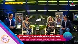 Trevi y Guzmán rompen record en la Arena Ciudad de México   Sale el Sol
