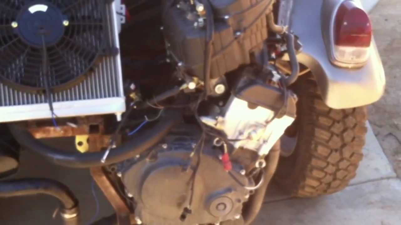 CBR1000RR Motorcycle Engine Powered Baja Bug