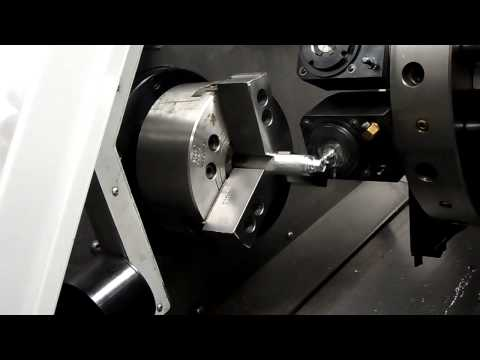 Haas CNC Lathe With Live Tooling