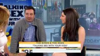 Jimmy Fallon Crashes Amber Madison's Sex Talk on TODAY Show