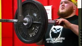 UWL student hoping to break power lifting world records