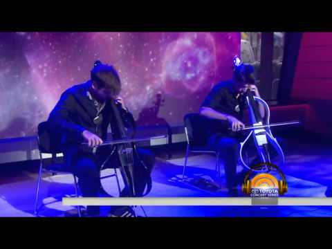 2CELLOSThunderstruckLive on Today Show