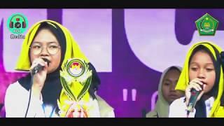 MTs SUNAN PANDANARAN PUTRI - Festival Hadroh MIC#4 MAN 2 Yogyakarta 2019