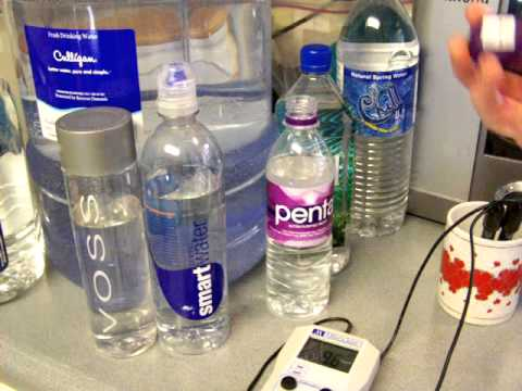 More Bottled Water Testing