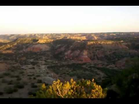 View of Palo Duro Canyon National Park, Texas