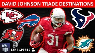 David Johnson Rumors: Top 5 NFL Teams That Could Trade For The Cardinals RB In 2020