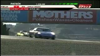 2009 Laguna Seca Race Broadcast - ALMS - Tequila Patron - Racing - Sports Cars - Mazda Raceway