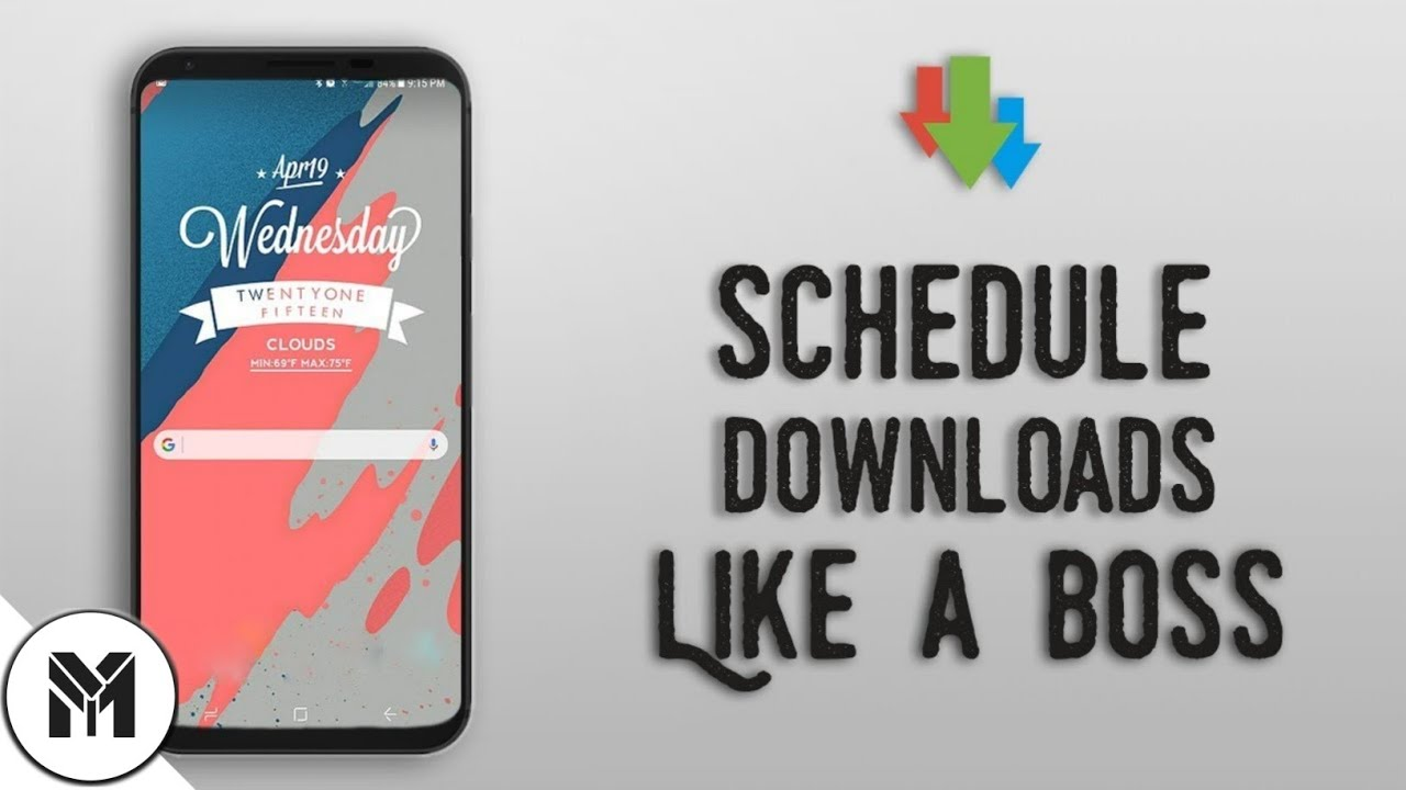 How to Schedule Downloads in Android