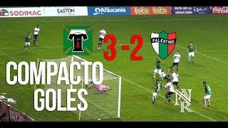 Compacto Goles - Deportes Temuco VS Palestino (3-2)