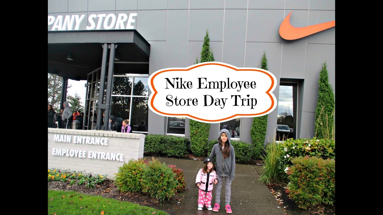 2a4d4517d38 Nike Employee Store Day Trip | aSimplySimpleLife Vlog