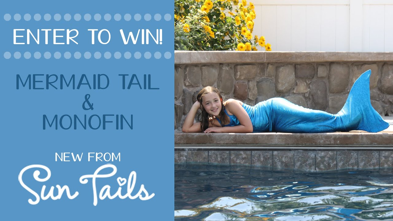 Win a FREE mermaid tail and monofin from Sun Tails (Closed)