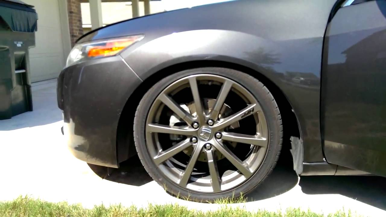 Cmod Acura TSX Mesh Grille Customers Video YouTube - Acura tsx mods