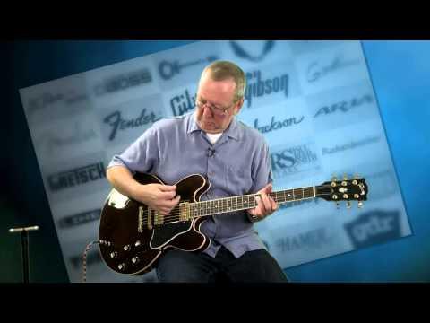 Gibson Guitars for Sale - Gibson Custom Shop Dot Reissue Gibson Case 2001 Dark Walnut - 515-864-6136