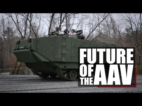 The Future of Amphibious Warfare | AAV SUP