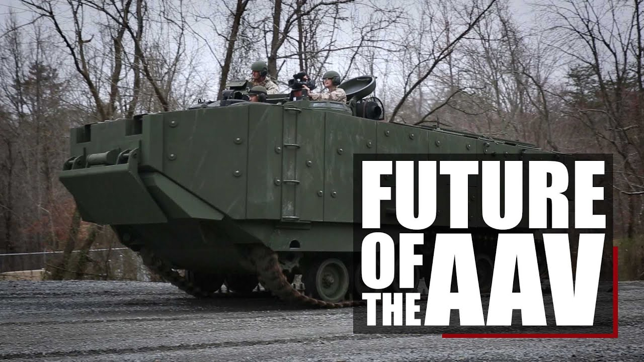The Future of Amphibious Warfare – AAV – Assault Amphibious Vehicle