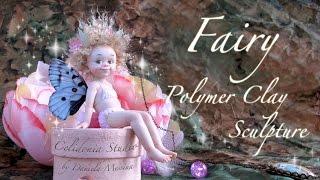 Fairy OOAK Polymer Clay Art Sculpture