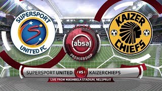 Absa Premiership | SuperSport United v Kaizer Chiefs | Highlights