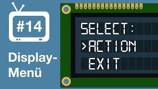 Arduino Tutorial - 14. Displaymenü